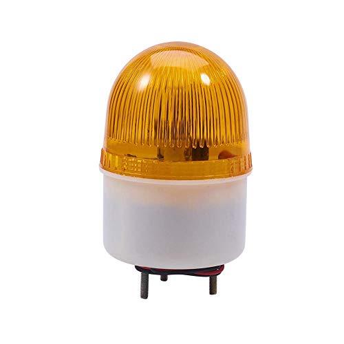 LTE-2071J DC 220V Sonido de zumbador amarillo 90 db Lámpara de señal...