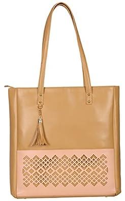 Fizza Casual PU Leather Tote Shoulder Bag Handbag for Ladies | Women | Girls