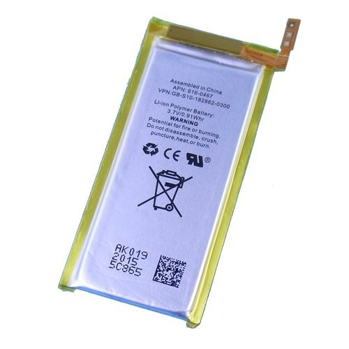 【互換バッテリー】【Replacement Battery】for iPod nano 第5世代 5th gen. プラスチックツール2本付きの詳細を見る