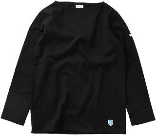 (オーチバル?オーシバル) ORCIVAL コットン100%長袖バスクシャツ b211