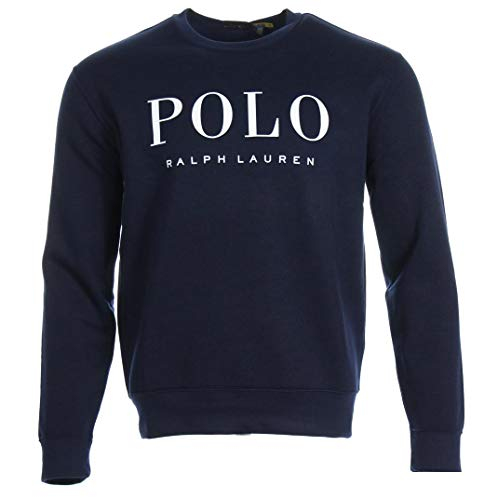 Ralph Lauren Herren Polyester Sweatpullover (Navy, s)