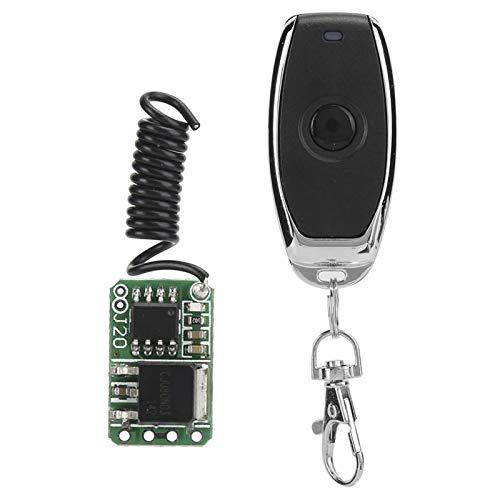 Yctze Interruptor de Control Remoto inalámbrico, interruptores de luz de Control Remoto, tamaño súper pequeño, para Todo Tipo de Espacios Estrechos