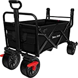 Best Folding Wagons - BEAU JARDIN 80KG Capacity Folding Camping Cart Outdoor Review