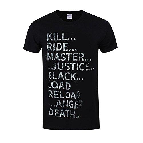 CID - Metallica - Album Text Logo T-Shirt