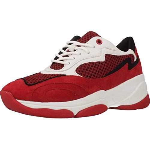 Geox Sportschuhe für Damen D92BPB 02214 D KIRYA C7V7Y RED Schuhgröße 41