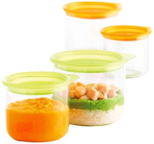 mastrad Kindergeschirr, Kunststoff, orange, 9.5 x 11 x 8 cm