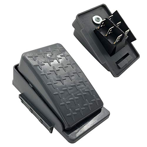 12volt 6volt Accelerator Foot Pedal Reset-Control Switch for Kids Ride On Cars, Children Electric...
