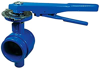"""Dixon GIBFV200 Iron Grooved End Butterfly Valve with EPDM Seals, 2"""" from Dixon"""