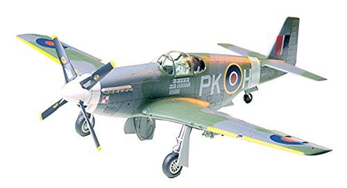 タミヤ 1/48 傑作機シリーズ No.47 イギリス空軍 ノースアメリカン RAF マスタングIII プラモデル 61047