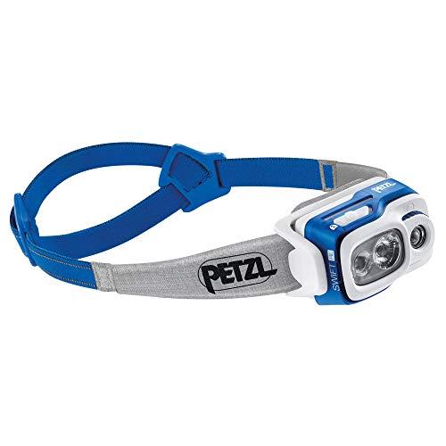 PETZL Swift RL Linterna Frontal, [Campo obligatorio: Determine los valores válidos manualmente], Azul, 8 x 8