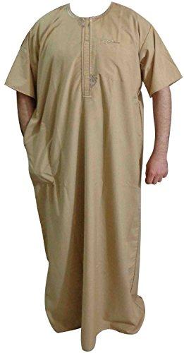 Robe Juba Qamis Daffah Dishdasha Islamic Arab Kaftan Men Thobe Thoub Abaya