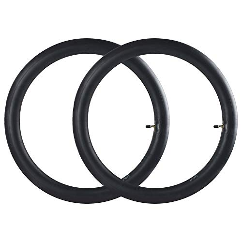 """2.75/3.00-21"""" Inner Tube (2 Pack), 80/100-21"""" Dirt Bike Tube with TR4 Straight Valve Stem, Fit Off Road Motorcycle with 21'' Tires (Fit: 90/80-21, 90/90-21, 80/100-21)"""