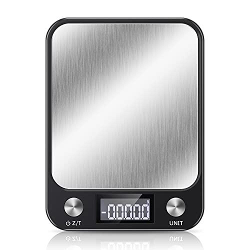 キッチンスケール デジタルスケール 料理 調理 計量器 クッキングスケール軽量 風袋引き機能 自動オフ パターン 高精度 多用途 電子はかり