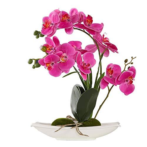 Flores Artificiales Decorativas Con Maceta flores artificiales  Marca ENCOFT