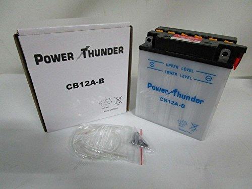 Batterie Power Thunder YB12A-B 12 V/12 Ah
