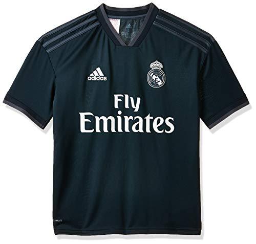adidas Kinder Trikot 18/19 Real Madrid Away, tech Onix/Bold Onix/White, 140, CG0570