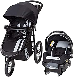 Babytrend TJ75C57G Cityscape Jogger Travel System - Sparrow, Black