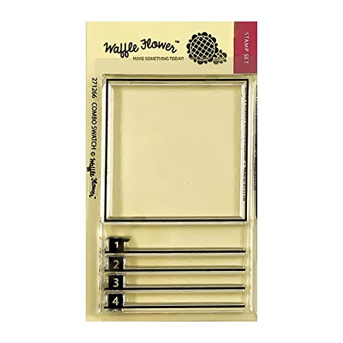 Waffle Flower Combo Swatch Stamp Set