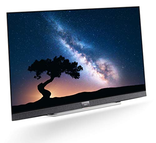 METZ Blue S9A 65 Zoll Smart 4K UHD Fernseher, Android 8.0, 6 Lautsprecher, Triple Tuner, Netflix, YouTube (HDMI, CI-Slot, USB, digital Audio)