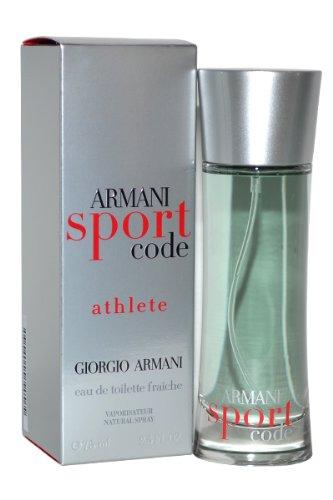 Price comparison product image Giorgio Armani Code Sport Eau De Toilette Spray,  2.5 Ounce