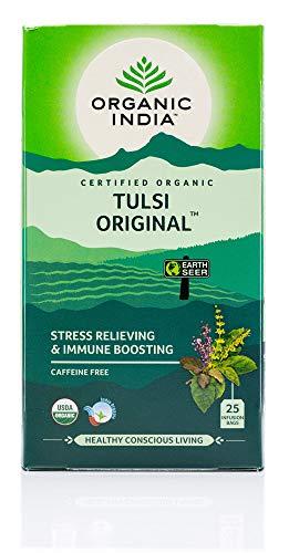 ORGANIC INDIA Tulsi Original Tea 25 Infusion Tea Bags