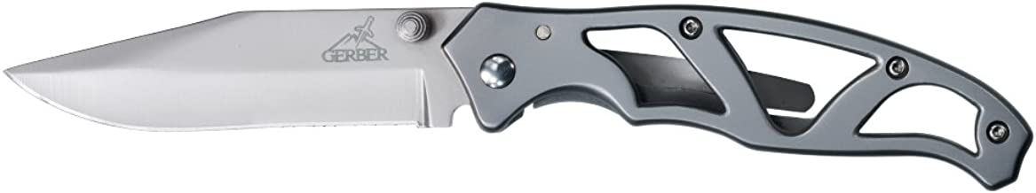Gerber Paraframe I Knife, Fine Edge, Stainless Steel [22-48444]