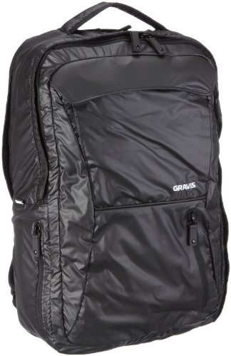 Gravis DAY TRIPPER 260652 Unisex - Erwachsene Rucksäcke, Schwarz (BLACK SHINE 006), 48x30x15 cm (B x H x T)