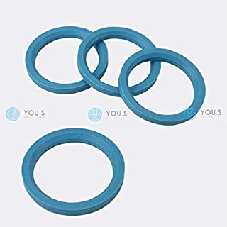 1Pz x Anello boccola di centraggio in plastica per cerchi in lega da 63,3 a 54,1
