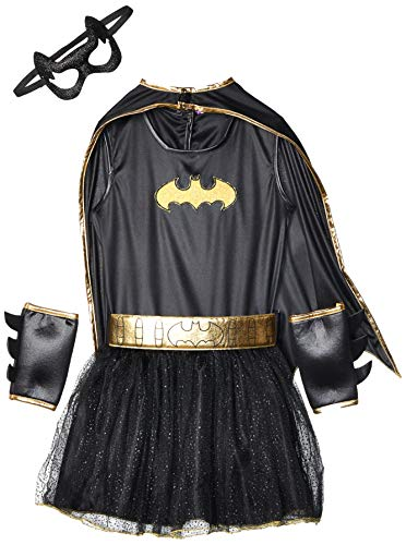 Rubie's - Costume da Batgirl Bambina, M, 5-7 anni