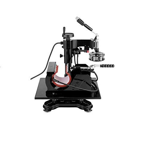 5 in1 Heat Press Machine -12X15' Heat Press Professional Digital Transfer Sublimation- Tshirt Press Machine Presser for T-Shirts Mug Hat/Cap Plate