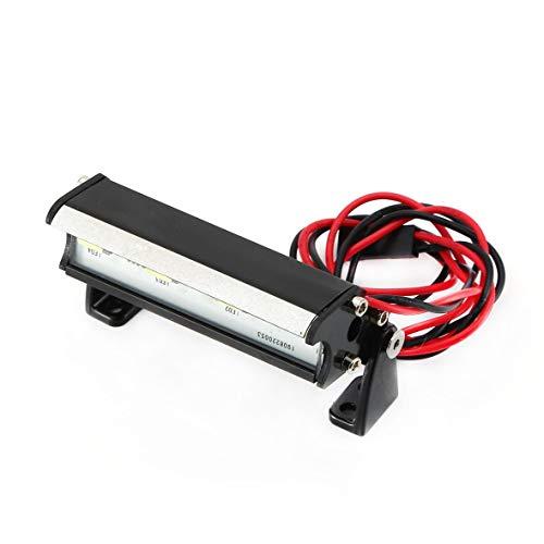 Cosye Barra de Luces LED para Coche RC para Traxxas Traxxas 1/16 Teton/Summit/E-Revo Redcat RC Rock Crawler Truck Body Shell Luces de Techo