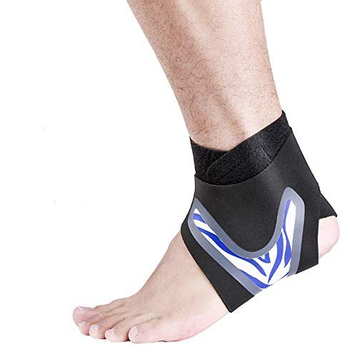 GHdfsad women and men foot bandage adjustable ankle support flexible ankle brace Bandage Sports Handball Football Volleyball Foot Strains Sprains and Sports Breathable Ankle Brace