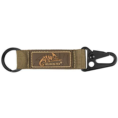 Helikon Tex Snap Hook Keychain mit Logo -Nylon- Coyote