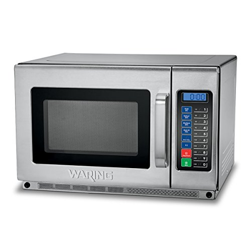 Waring Commercial WMO120 Commercial Microwave Oven, Silver
