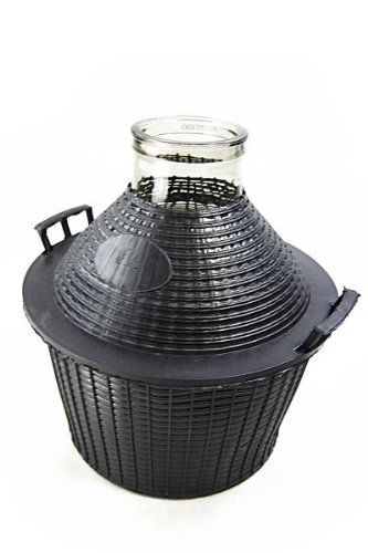 Damigiana/damigiana in vetro 25 litri, Wide-mouth