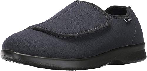 Propet Men's Cush N Foot Shoe,Black,12 3E US