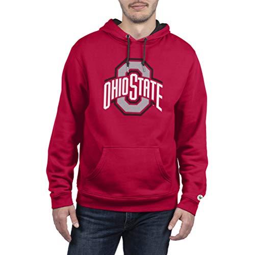 Top of the World Ohio State Buckeyes Men's Team Applique Icon Hoodie Sweatshirt, XX-Large
