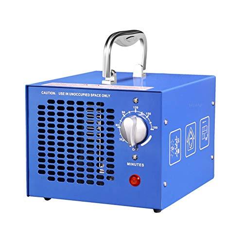 CEXTT Purificación del aire 3500mg / h generador de ozono, desinfección y esterilización del generador de limpieza interruptor temporizador oficial, el hogar y la esterilización del ventilador del aut