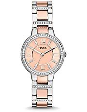 Fossil Damen Analog Quarz Uhr