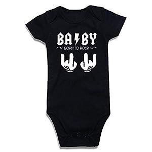 SUPERMOLON 3885 Body, Negro, 0-3 Meses Unisex bebé