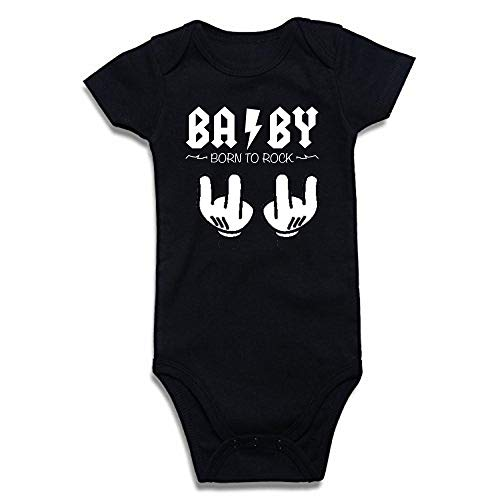SUPERMOLON 3892 Body, Negro, 3-6 Meses Unisex bebé