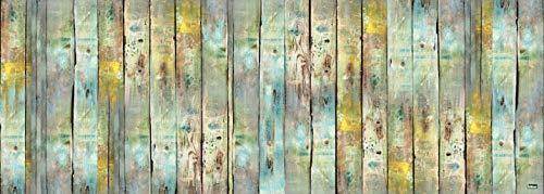 Vilber Gran Chef Wood Alfombra, Vinilo, Multicolor, 50x140x0.2cm