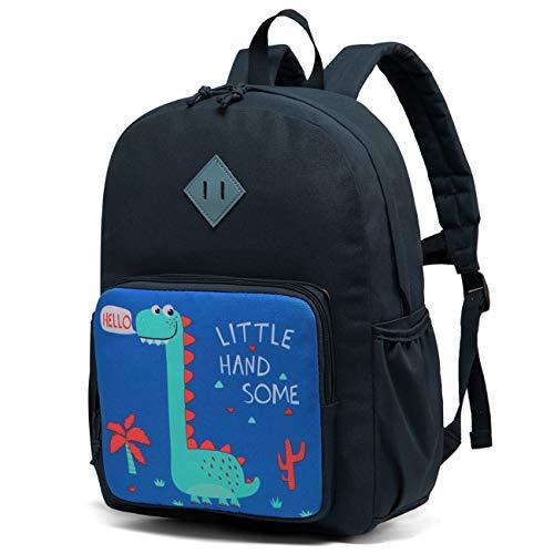 Kinderrucksack für Jungen,Chasechic Wasserdicht Kleinkind Vorschule Kindergarten Büchertasche für Jungen Mädchen mit Brustgurt Dinosaurier