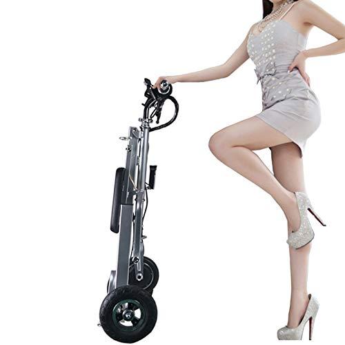 Triciclo eléctrico Plegable Vespa Vieja para discapacitados Vespa de batería de Litio
