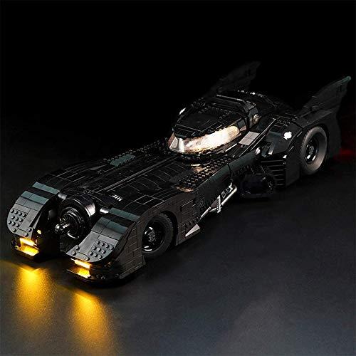 WDLY Iluminación LED Luces Kit, para Lego (1989 Batmobile) 76139 Juego De Luces (No Incluir Modelo)