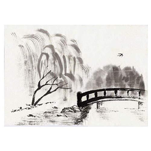 Chinesische Art Tuschemalerei einfache abstrakte Landschaftsmalerei Tapete