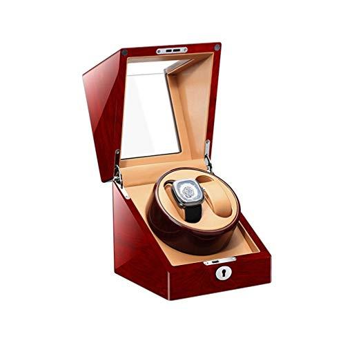 Geschenk 2 + 0 Doppel Automatische Uhrenbeweger Box Luxus Holz Sehr Leise Elektrische Aufbewahrungsbox Box for Männer Frauen Klavier Malerei Uhrenbox Automatische Kettenschüttler ( Color : A )