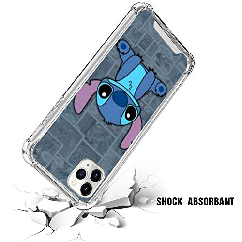 Disney Collection Disney Collection Anti Fall Clear Phone Case For Iphone 11 Pro Tpu Edges Shockproof Protection Stitch Cute Wallpaper From Amazon Daily Mail