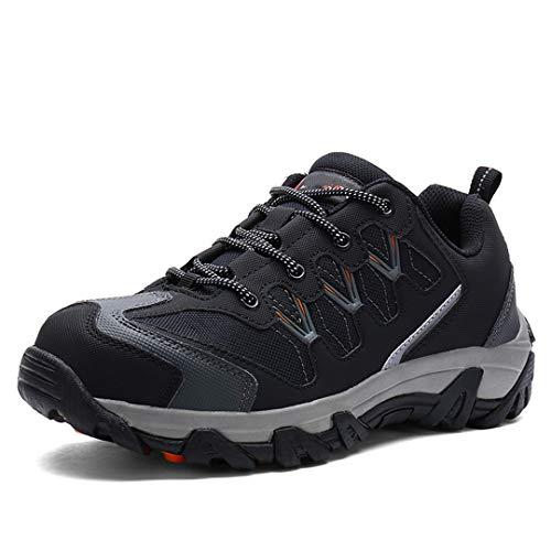 Seguridad en el Trabajo del dedo del pie zapatos de los homb