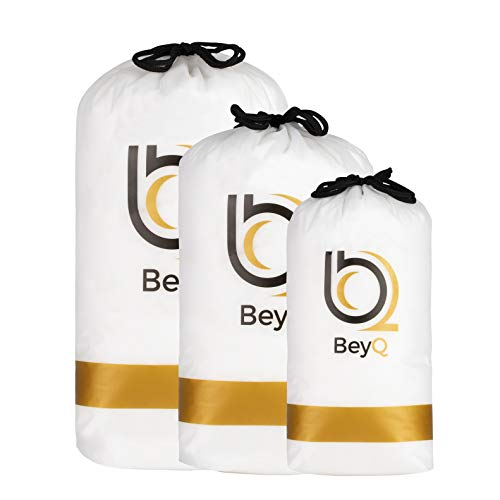 BeyQ Füllwatte - 600g - flauschiges Füllmaterial im praktischen Kordelzugbeutel - Watte - 95°C waschbar & trocknergeeignet - für Kuscheltiere, Kissen, etc.